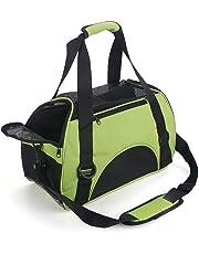 Petamo Dog Cat Travel Carrier Outdoor Tote for Pets Comfort Airline Approved Travel Soft Side Bag