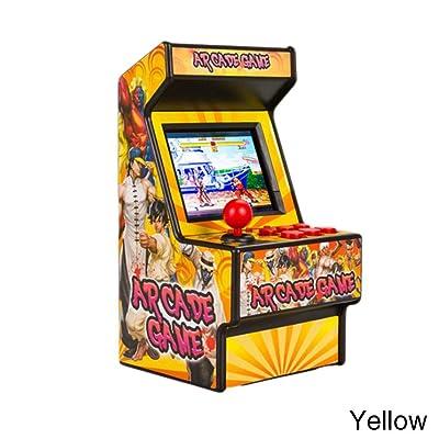 16bit Mini Arcade Game Machine Retro incluida de 156 Juegos electrónicos de Bolsillo clásico: Hogar