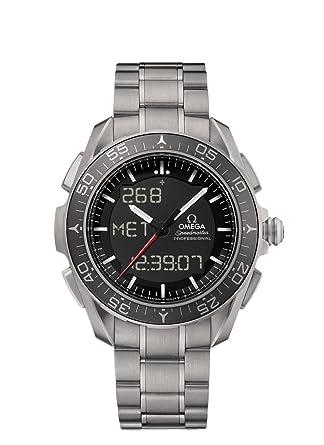 amazon com omega speedmaster skywalker x 33 titanium mens watch