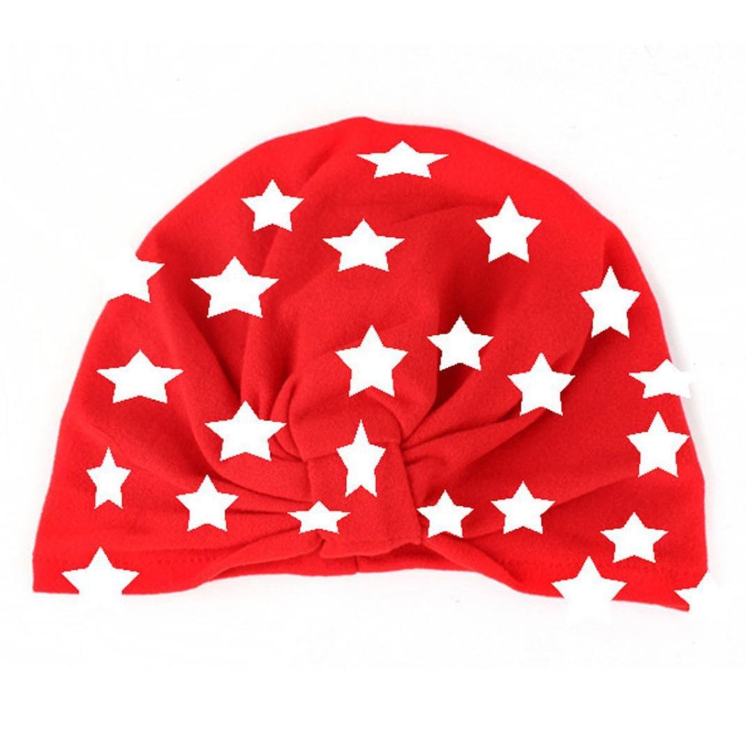 RNTOP_Baby Hat HAT ベビーガールズ ユニセックスベビー  レッド B079BNSL8N