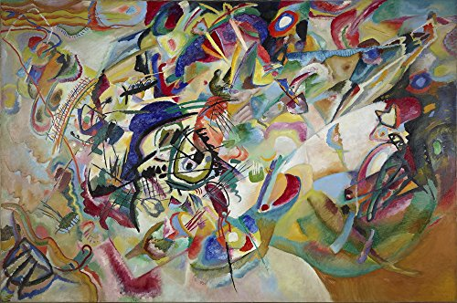 Berkin Arts Wassily Kandinsky Giclee Canvas Print Paintings for sale  Delivered anywhere in Canada