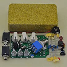 DIY Overdrive Effect Pedal Kit OD-1 With Flash Gold 1590B Size Enclosure