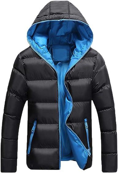 YK&Jekons para Hombre, Mujer, Pareja algodón Adelgazan la Capa Caliente Grueso Parka con Capucha Outwear: Amazon.es: Ropa y accesorios