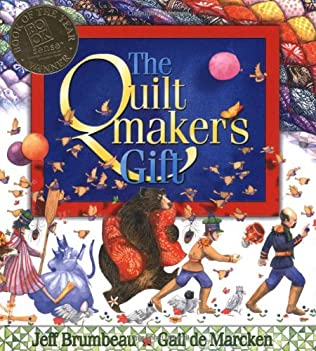 book cover of The Quiltmaker\'s Gift