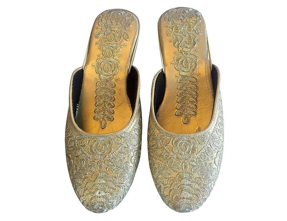 Step n Style Punjabi Jutti Indian Khussa Shoes Women Designer Salwar Kameez Shoes