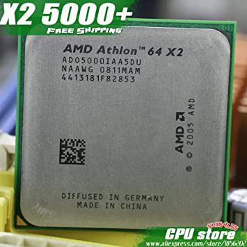 1MB Socket AM2 Dual-Core CPU AMD Athlon 64 X2 5000