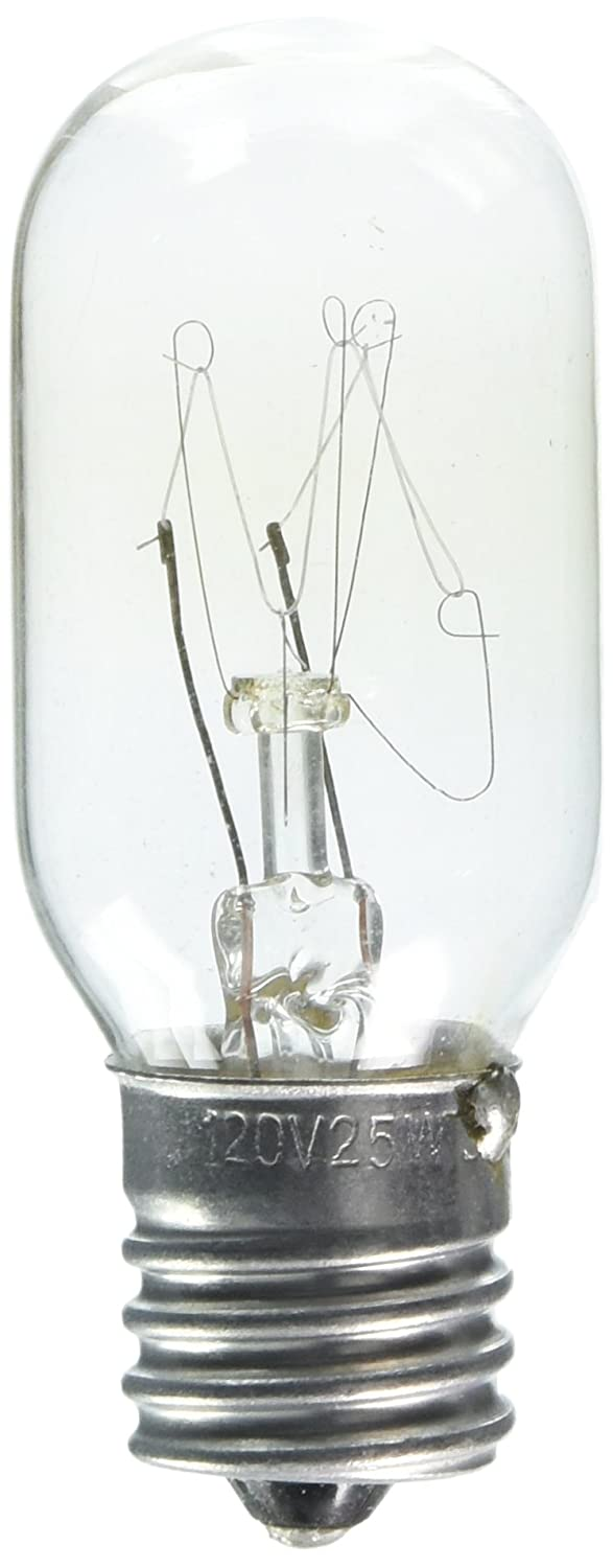 Sylvania 18360 25-Watt Clear Tubular Intermediate Base Incandescent T8 Bulb