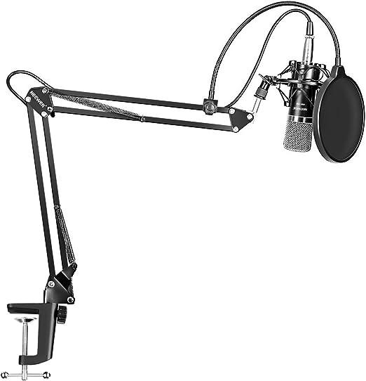Neewer NW-700 Micrófono Condensador Pro Estudio Grabación de ...