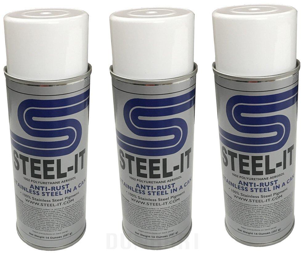 Steel-it Polyurethane 14oz Spray Can (3 Pack)