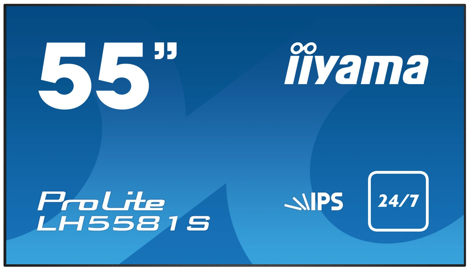 iiyama LH5581S-B1 55'' Full HD Black public display