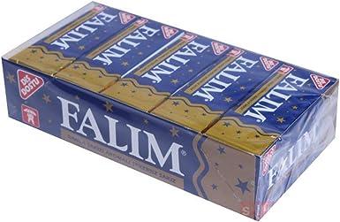 Falim Chicle - Goma de Mascar Dura - 140gr. Paquete - Totalmente 100 Chicles (Masilla): Amazon.es: Alimentación y bebidas