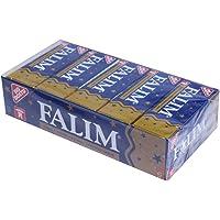 Falim Sockerfrit Tuggummi - Totalt 100 Stycken - Förpackning Med 5 x 20 Stycken - Tandvänligt - Certifierad Medlem Av…