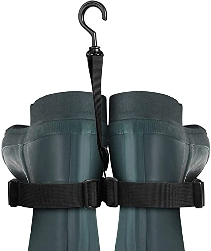 SAMSFX Fishing Wader Boot Hanger Strap Belt for Drying Wader Rack Storage