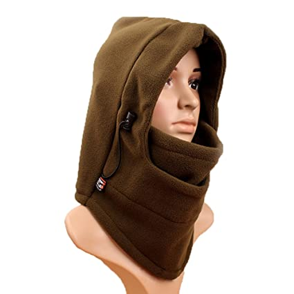 561736a1155 NSSTAR Double Layers Thermal Warm Fleece Thicken Balaclava Hood Full Face  Cover Mask Winter Wind Proof Stopper Hat Neck Warmer For Outdoors  Snowboarding Ski ...