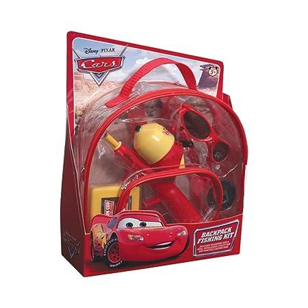 Shakespeare Disney Cars Backpack Kit – Spincast Youth Combo 2 0 – Telesc. – M