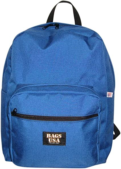 Backpack with front pockets,university Backpack Dupont Cordura and Made in USA.