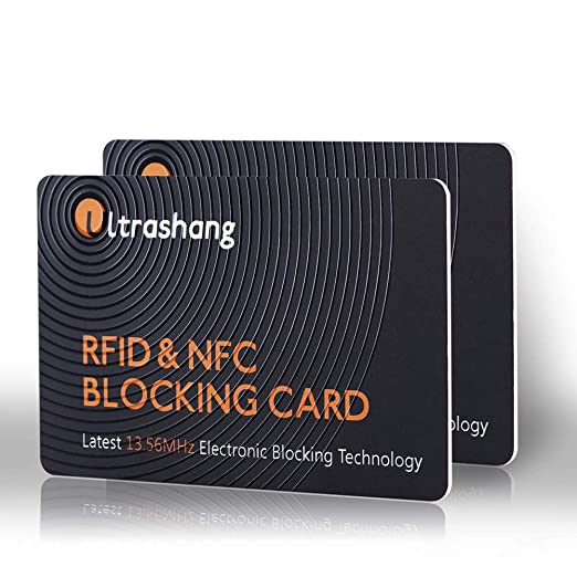 89d5e85f963 Amazon.com  2Pcs RFID Blocking Card