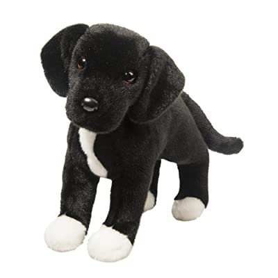 Douglas Twister Black Lab/Pit Bull Mix Plush Stuffed Animal: Toys & Games