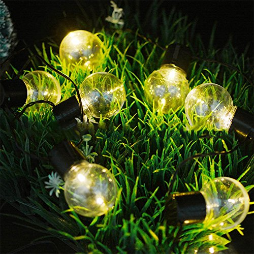 solar globe string lightsmiya ltd 10led fairy string lights bubble crystal ball light garland