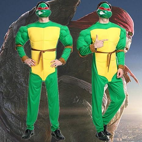 ZSDFGH Disfraz Tortuga Ninja Mujer/Disfraz Ninja Mujer ...