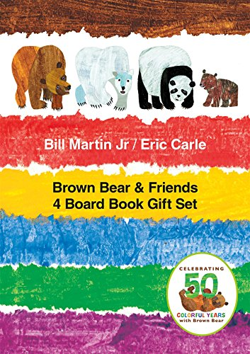 Brown Bear & Friends 4 Board Book Gift Set (Brown Bear and -