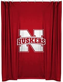 Shower Curtain Nebraska Cornhuskers Shower Curtain