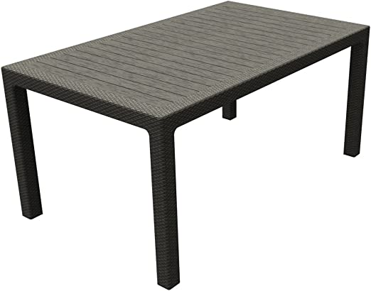 Keter 17198478 Symphony Table, 2 rallonges en Plastique ...