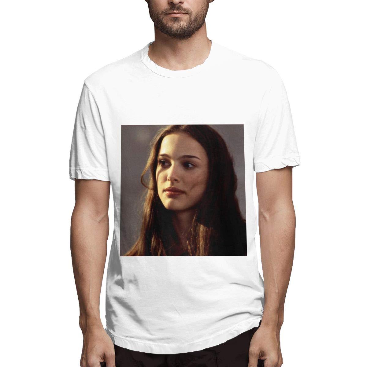 Lihehen Man Natalie Portman Round Neck T Shirt