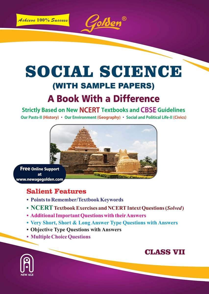 Golden Social Science: With Sample Papers A Book with a