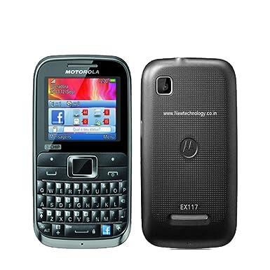 amazon com motorola motokey ex117 3 chip unlocked gsm phone with rh amazon com