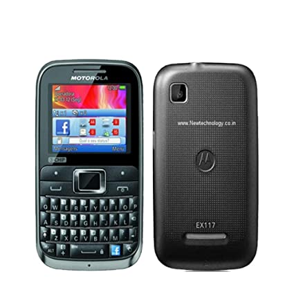 Amazon com: Motorola MOTOKEY EX117 3-Chip Unlocked GSM Phone