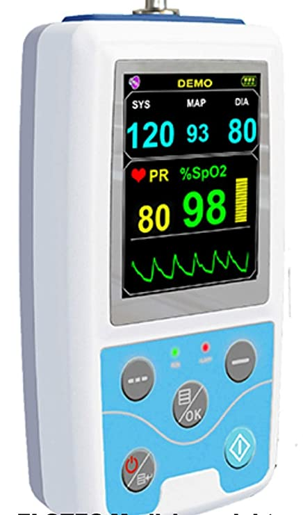 Largo Tiempo Tensiómetro Control 24 con Pulso Sensor ...