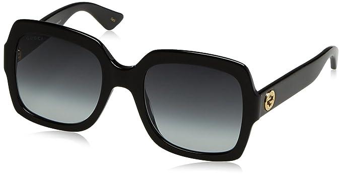 Amazon.com: Lentes de sol cuadradas de Gucci 0036S ...