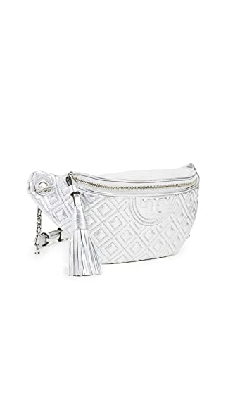 Tory Burch Women's Fleming Metallic Belt Bag by Tory Burch