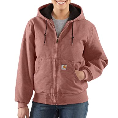 Carhartt Women's Sandstone Active Jacket, Burl Wood, ...