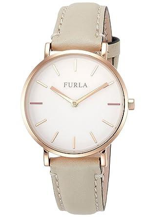 497cdc620f4d [フルラ]FURLA レディース GIADA ジャーダ ゴールド ホワイトレザー R4251108503 腕時計 [並行輸入品