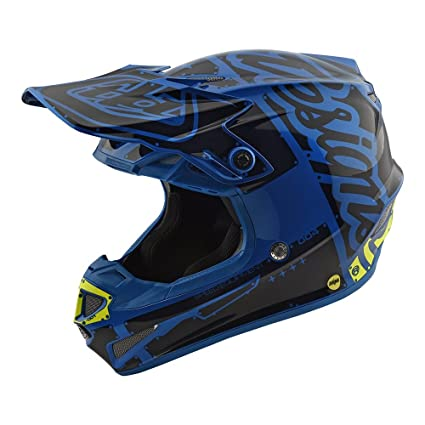 Troy Lee Designs SE4 Polyacrylite Factory Motocross Motorcycle Lightweight Helmet 2018 Model with EPS MIPS exceeds