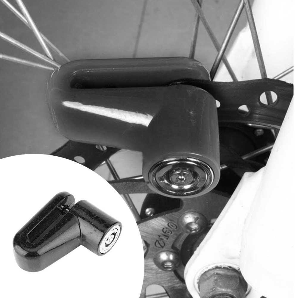 Nelnissa Antivol pour v/élo Moto Rotor Disque de Frein de s/écurit/é de Roue antivol Noir