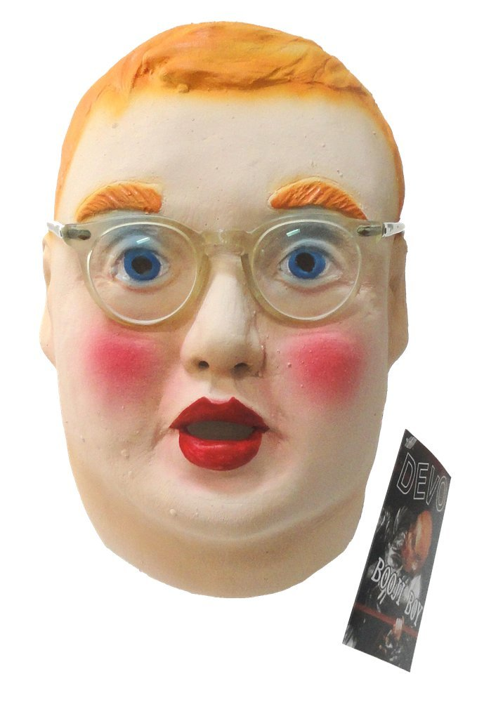 DEVO Booji Boy Latex Mask