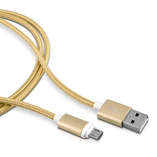 85 opinioni per kwmobile Nylon Cavetto per ricarica micro USB per Samsung Galaxy S6 / S6 Edge /
