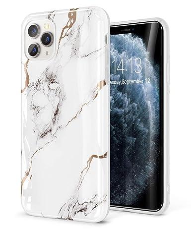 Amazon.com GVIEWIN Marble iPhone 11 Pro Max Case, Slim Thin