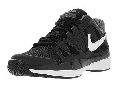 NIKE Mens Air Vapor Advantage Tennis Shoes Black/White 599359-001 Size 8.5