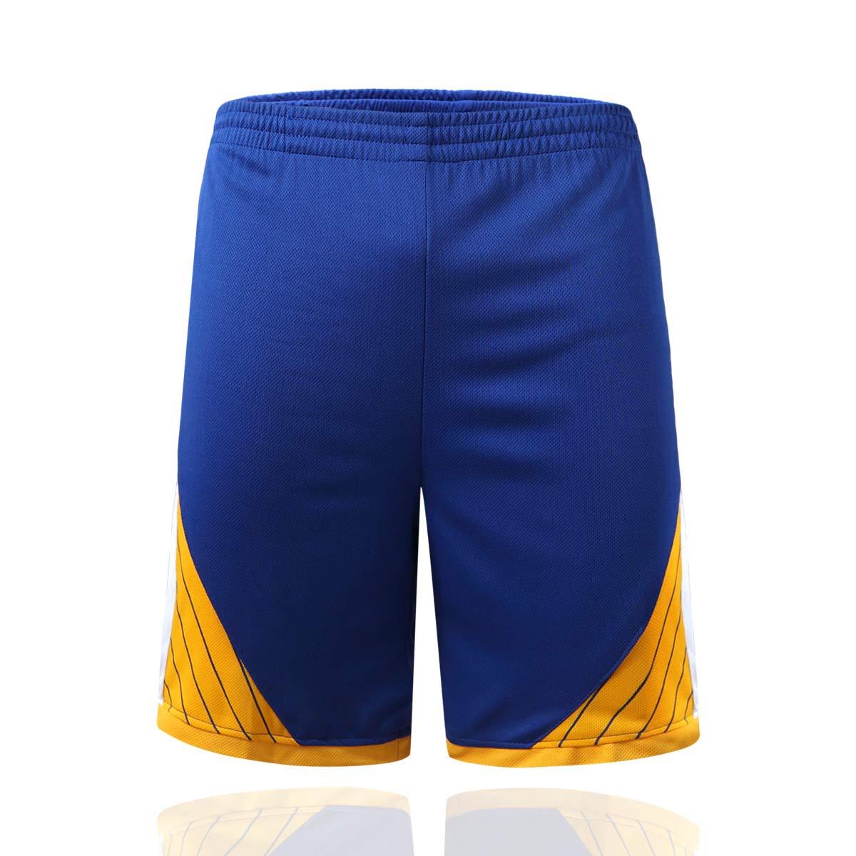 AGAB Mens NBA Curry # 30 Golden State Warriors Retro Pantaloncini da Basket Summer Jersey Basket Uniform Top e Short One Set