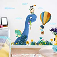 Cartoon Large Dinosaur Wall Stickers For Kids Rooms Home Decor Baby Room Nursery Animal Wall Decal Vinyl Art Poster