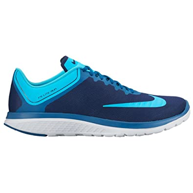 new style d6693 ff1c6 Nike Men s FS Lite Run 4 Running Shoe (12 D(M) US, Binary Blue Chlorine Blue)   Buy Online at Low Prices in India - Amazon.in