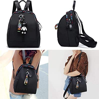 Amazon.com: Mochila, bolso de hombro de nailon para mujer ...