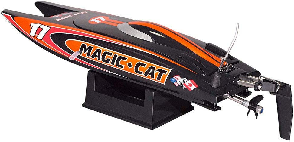 61wxW1v4kKL AC SL1000 in RC Rennboot Magic Cat von Joysway