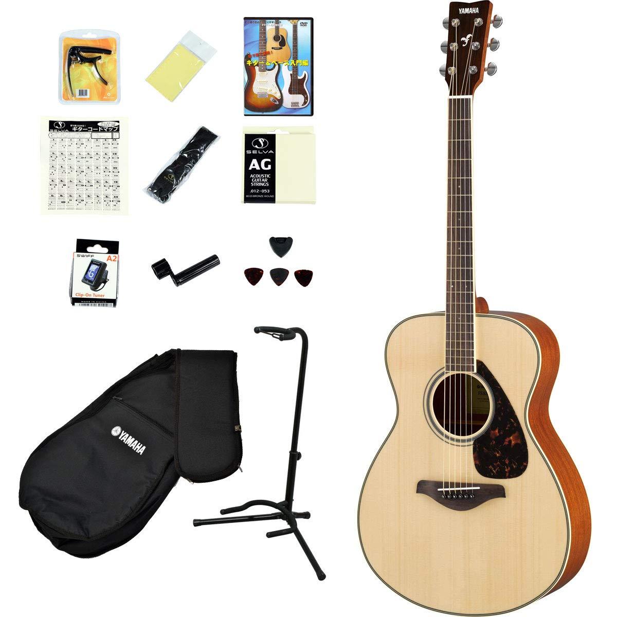 YAMAHA / FS820 NT 【アコースティックギター14点入門セット!】 FS-820 入門 初心者   B07NZPDL6K