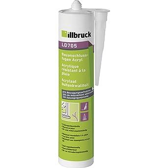 illbruck LD705 - Líquido acrílico para juntas de obras, 20% 310 ml, color blanco: Amazon.es: Industria, empresas y ciencia
