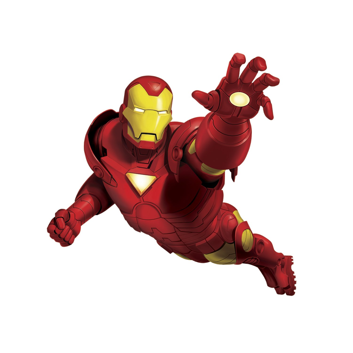 High Quality RoomMates Ironman Giant Repositionable Marvel Wall Stickers: Amazon.co.uk:  Kitchen U0026 Home Part 13